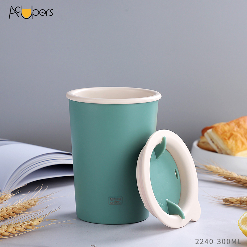 10 oz 300ml Classic PP Double Wall Espresso Cup Travelling Mug