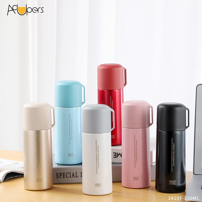 350ml 12oz Classic Double Wall Design Stainless Steel Vacuum Insulated Water Bottle Flask