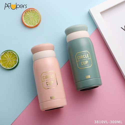 300ml 10oz Wholesale Multifunctional Double Wall SUS 304 Vacuum Bottle Insulated Mug Thermos Flask Gift Set With Tea Strainer